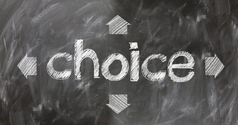 人生を後悔しない選択を考える
