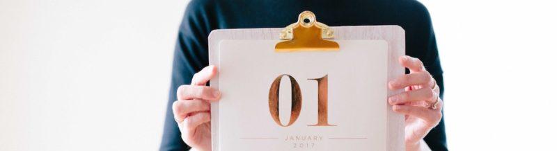 年末挨拶に適した粗品はカレンダー