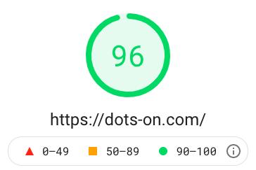 パソコンスコア「96」